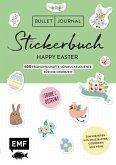 Bullet Journal - Stickerbuch Happy Easter: 750 frühlingshafte Schmuckelemente für die Osterzeit