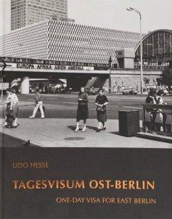 Udo Hesse - Tagesvisum Ost-Berlin - Endler, Adolf