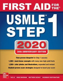 First Aid for the USMLE Step 1 2020 - Le, Tao; Bhushan, Vikas