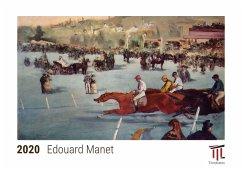 Edouard Manet 2020 - Timokrates Kalender, Tischkalender, Bildkalender - DIN A5 (21 x 15 cm) - Herausgeber: Timokrates Verlag