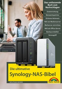Die ultimative Synology NAS Bibel (eBook, ePUB) - Gieseke, Wolfram
