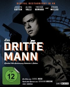 Der dritte Mann 70th Anniversary Collector's Edition - Cotten,Joseph/Welles,Orson