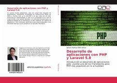 Desarrollo de aplicaciones con PHP y Laravel 5.8