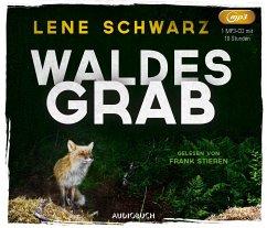 Waldesgrab, 1 MP3-CD - Schwarz, Lene