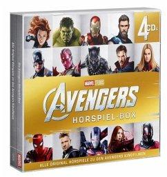 Avengers Hörspiel-Box 1-4, 4 Audio-CDs