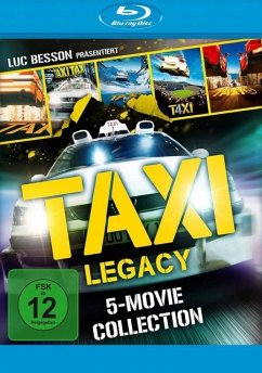 Taxi Legacy - 5 Movie Collection BLU-RAY Box