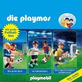 Die grosse Fussball-Box, Folgen 7, 51, 60: Das grosse Spiel / Im Fussballfieber / Die magische Fussballmeisterschaft - Das Original Playmobil Hörspiel (Hörspiel) (MP3-Download)