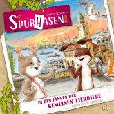 Die Spürhasen-Bande, Folge 3: In den Fängen der gemeinen Tierdiebe oder Abenteuer in Hamburg (MP3-Download)