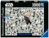 Ravensburger 14989 - Star Wars, Challenge, Puzzle, 1000 Teile