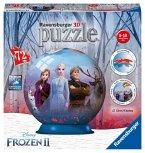 Ravensburger 11142 - Disney Frozen II, 3D-Puzzleball, Die Eiskönigin, 72 Teile