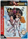 Ravensburger 14991 -Star Wars, Der Aufstieg Skywalkers 2, Puzzle, 1000 Teile