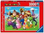 Ravensburger 14970 - Super Mario, Puzzle, 1000 Teile