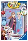Ravensburger 28485 - Malen nach Zahlen, Disney Frozen II, Schwesternliebe, Malset