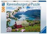 Skandinavische Idylle (Puzzle)