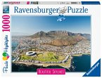Ravensburger 14084 - Beautiful Scylines, Cape Town, Puzzle, 1000 Teile