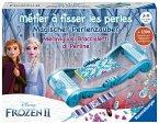 Ravensburger 18075 - Disney Frozen II, Magischer Perlenzauber, Die Eiskönigin, Webrahmen mit Zubehör