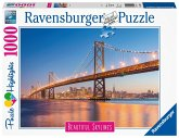 Ravensburger 14083 - Beautiful Skylines, San Francisco, Puzzle, 1000 Teile