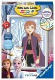 Ravensburger 27699 - Malen nach Zahlen, Disney Frozen II, Anna und Olaf, Malset