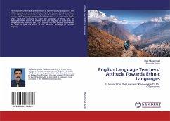 English Language Teachers' Attitude Towards Ethnic Languages