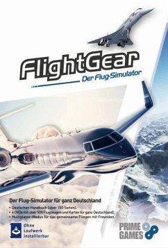 FlightGear 2020, 4 DVD-ROM