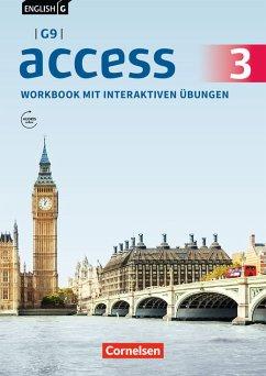 English G Access - G9 - Band 3: 7. Schuljahr - Workbook mit interaktiven Übungen auf scook.de