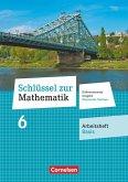 Schlüssel zur Mathematik 6. Schuljahr. Oberschule Sachsen - Arbeitsheft Basis mit Lösungsbeileger