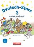 Deutsch-Stars 3. Schuljahr. Knobeln und Rätseln - Übungsheft. Mit Lösungen