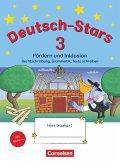 Deutsch-Stars 3. Schuljahr. Fördern und Inklusion - Übungsheft. Mit Lösungen