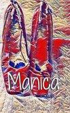 Manica Red Pumps Clinton in Blue Dress creative Journal
