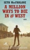 A Million Ways to Die in the West, deutsche Ausgabe (Mängelexemplar)