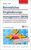 Betriebliches Eingliederungsmanagement (BEM) (eBook, ePUB)