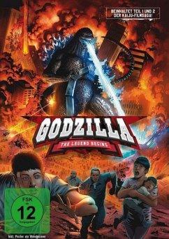 Godzilla: The Legend Begins DVD-Box - Hirata,Akihiko/Takarada,Akira/Burr,Raymond/+