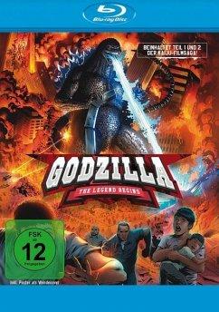 Godzilla: The Legend Begins BLU-RAY Box - Hirata,Akihiko/Takarada,Akira/Burr,Raymond/+