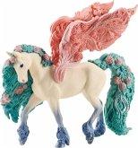 Schleich 70590 - Bayala, Blütenpegasus, Pferd, Tierfigur