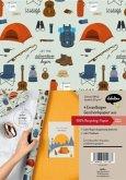 Geschenkpapier Set: Reise und Camping