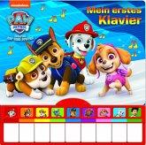 PAW Patrol - Mein erstes Klavier - Kinderbuch mit Klaviertastatur, 9 Kinderlieder, Vor- und Nachspielfunktion, Pappbilderbuch ab 3 Jahren