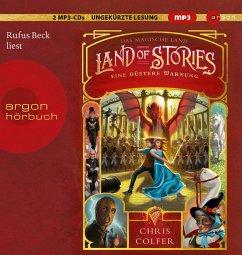 Eine düstere Warnung / Land of Stories Bd.3 (2 MP3-CDs) - Colfer, Chris