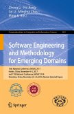 Software Engineering and Methodology for Emerging Domains (eBook, PDF)