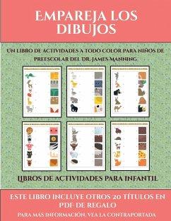 Libros de actividades para infantil (Empareja los dibujos)