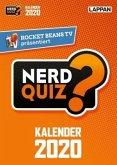 Rocket Beans TV - Nerd Quiz-Kalender 2020 mit Fragen rund um Games, Filme und Popkultur