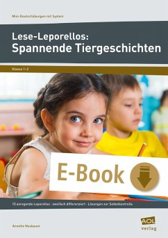 Lese-Leporellos: Spannende Tiergeschichten Kl. 1/2 (eBook, PDF) - Neubauer, Annette