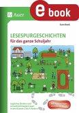 Lesespurgeschichten für das ganze Schuljahr (eBook, PDF)