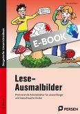 Lese-Ausmalbilder (eBook, PDF)