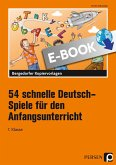 54 schnelle Deutsch-Spiele (eBook, PDF)