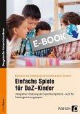 Einfache Spiele für DaZ-Kinder (eBook, PDF)