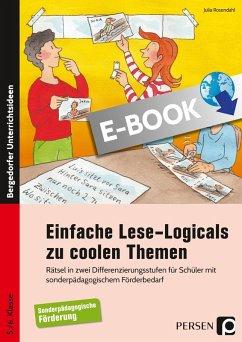 Einfache Lese-Logicals zu coolen Themen (eBook, PDF) - Rosendahl, Julia