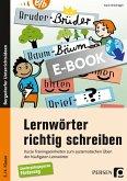 Lernwörter richtig schreiben (eBook, PDF)