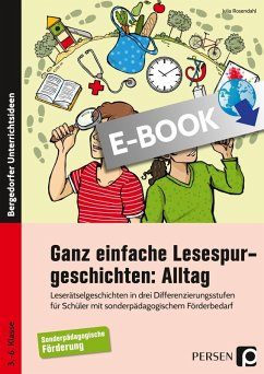 Ganz einfache Lesespurgeschichten: Alltag (eBook, PDF) - Rosendahl, Julia