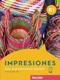 Impresiones B1. Kurs- und Arbeitsbuch mit 2 Audio-CDs