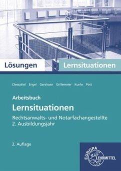 Rechtsanwalts- und Notarfachangestellte, Lernsituationen 2. Ausbildungsjahr, Lösungen